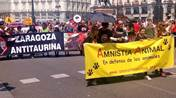 MANIFESTACIÓN ANTITAURINA EN MADRID