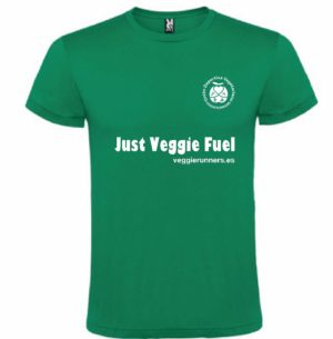 camiseta algodon just veggie fuel