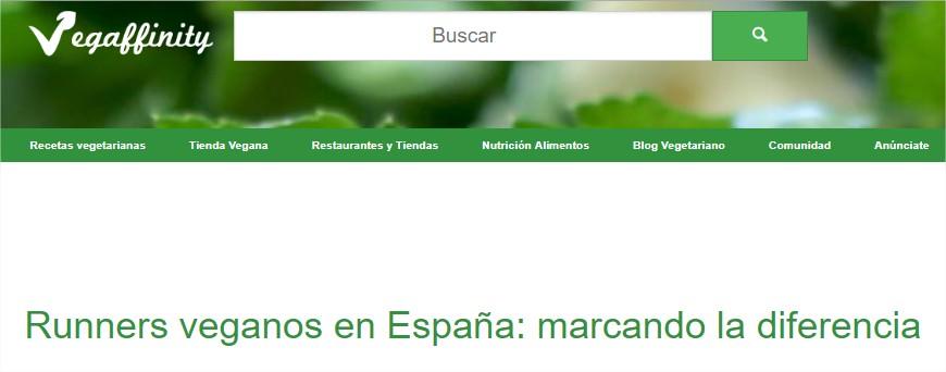 Runners veganos en España marcando la diferencia Noticias del Mundo Vegetariano y Vegano