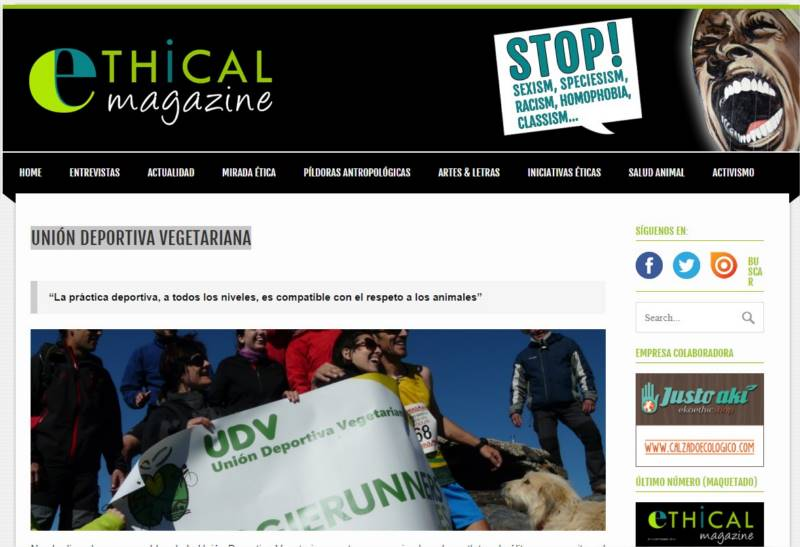 ethical magazine udv