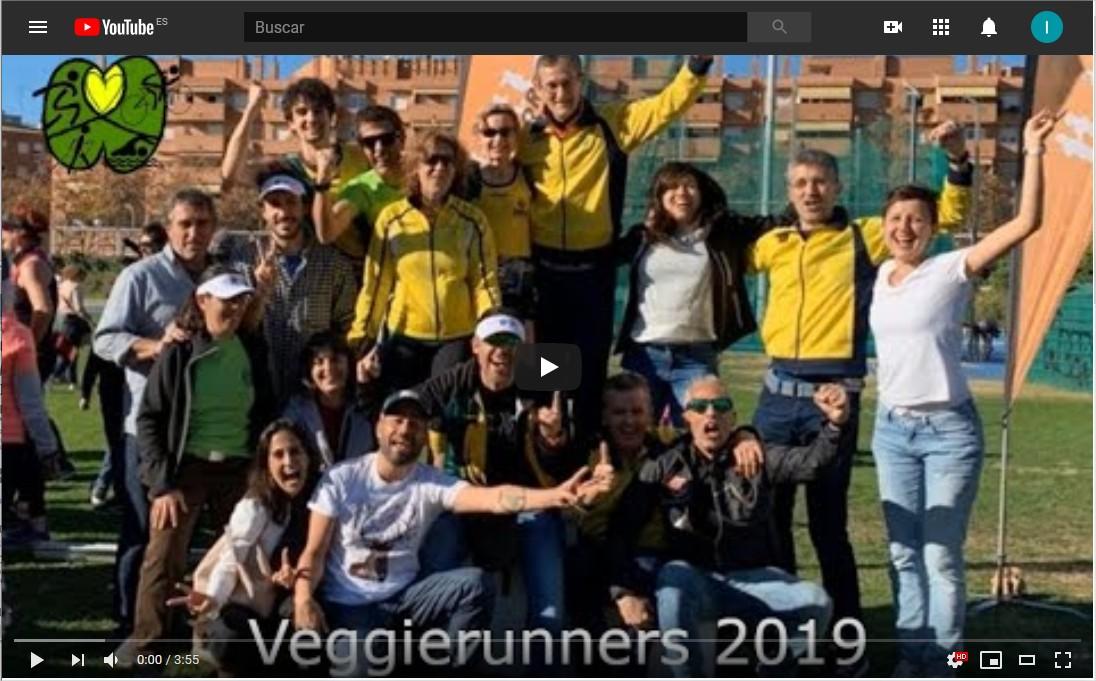2019 VEGGIERUNNERS Unión Deportiva Vegetariana. - YouTub